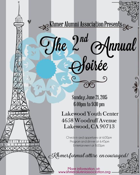 Khmer Alumni Association's 2nd Annual Soiree